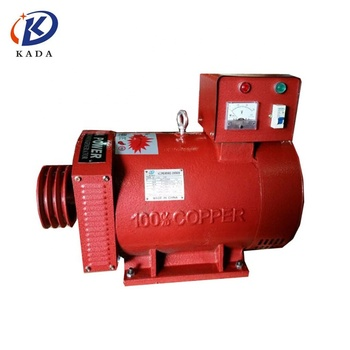 KADA ST-10KW single phase alternator carbon brush 10kw alternator generator alternative energy generators