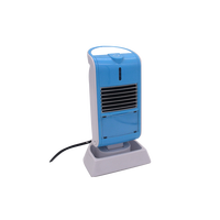 Mini small Portable Ptc Heater Adjustable Thermostat Desk Fan Heater For Office Home