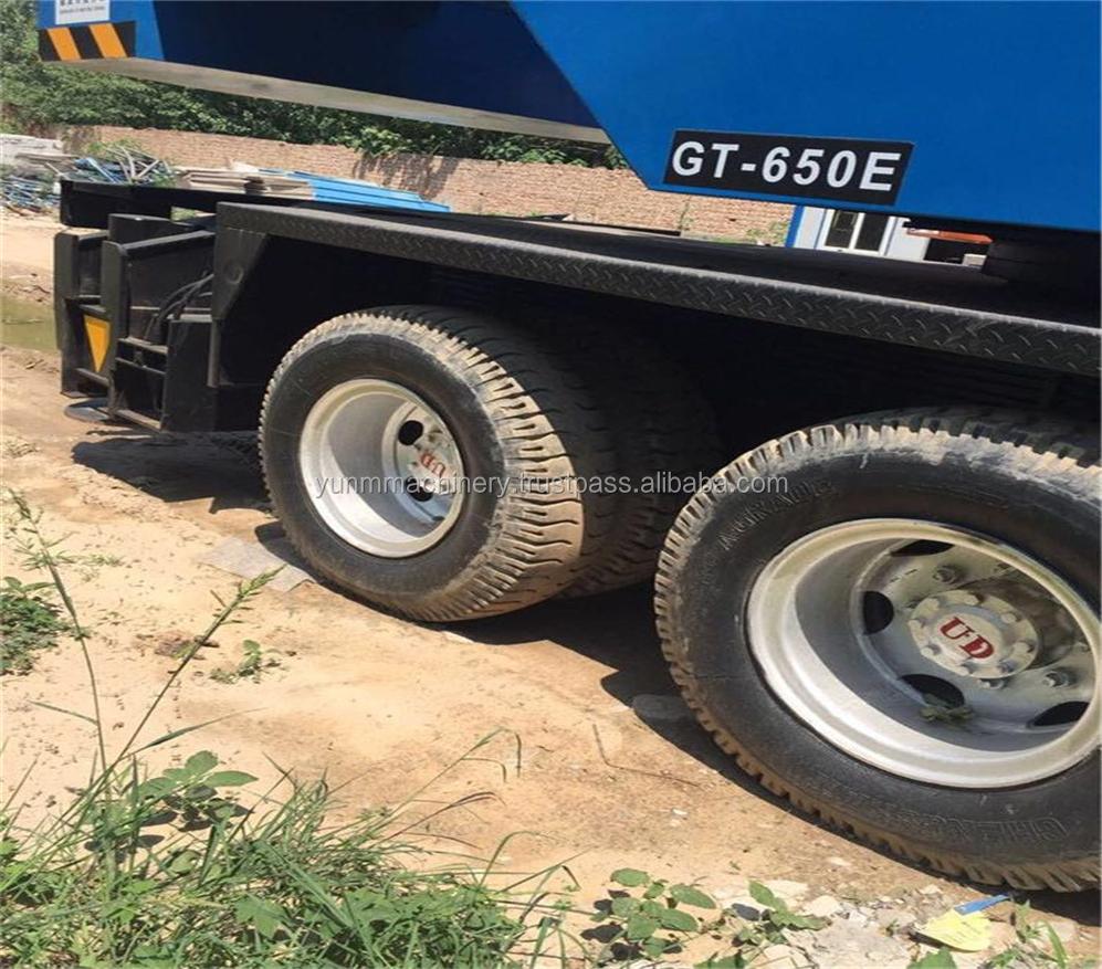 Truck Cranes 65 T/Used Tadano Crane 65 Ton Gt650e with Reasonable Price