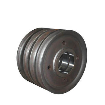 Densen customized Stainless Steel forging crane wheel or Crane sheave