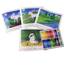China Painting Supplies Diy Magic Painting <strong>Book</strong> With Augmented Reality Children Coloring <strong>Book</strong>