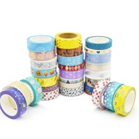 Wholesale New Fashion Korean and Japanese Import Cute Fancy Customized Stationery Tape From China