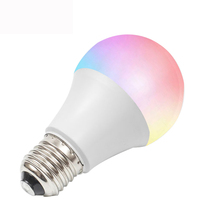 2018 new RGB 3000k-6500k E26/E27 smart led light bulb filament bulb