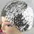 Hot Sale Shiny Costume Jazz Glitter Dance Beret Round Cap Ladies Fashion Hair Accessories Women Sequins Beanie Hat