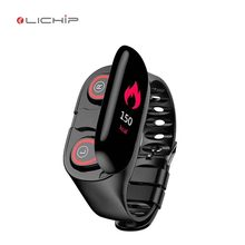 LICIHP L274 reloj inteligente con audifono smartwatch wireless headphone earphone earbuds <strong>smart</strong> <strong>watch</strong> with earbuds <strong>watch</strong>