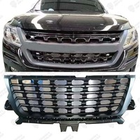 2016-2019 Front Bumper Mesh Grill for Colorado Grill S10 Grille Pickup Truck Car Accessories