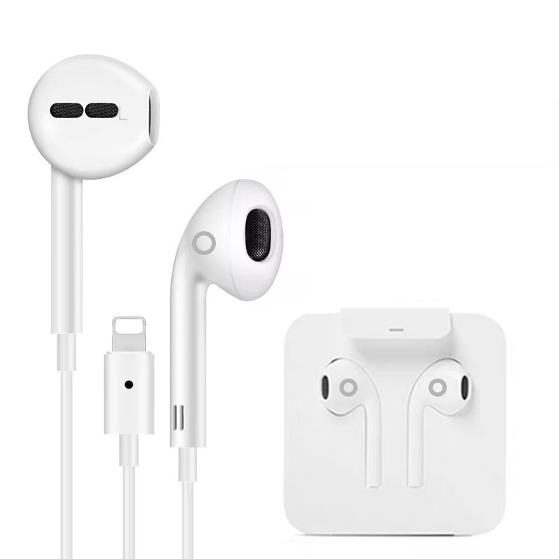 High <strong>Quality</strong> original IC chip cancelling wired headphones Earphone For iPhone 11