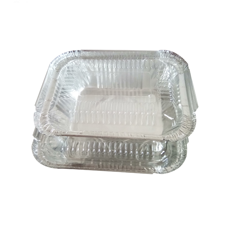 Take Away 250ml ALUMINIUM FOIL CONTAINERS with LIDS