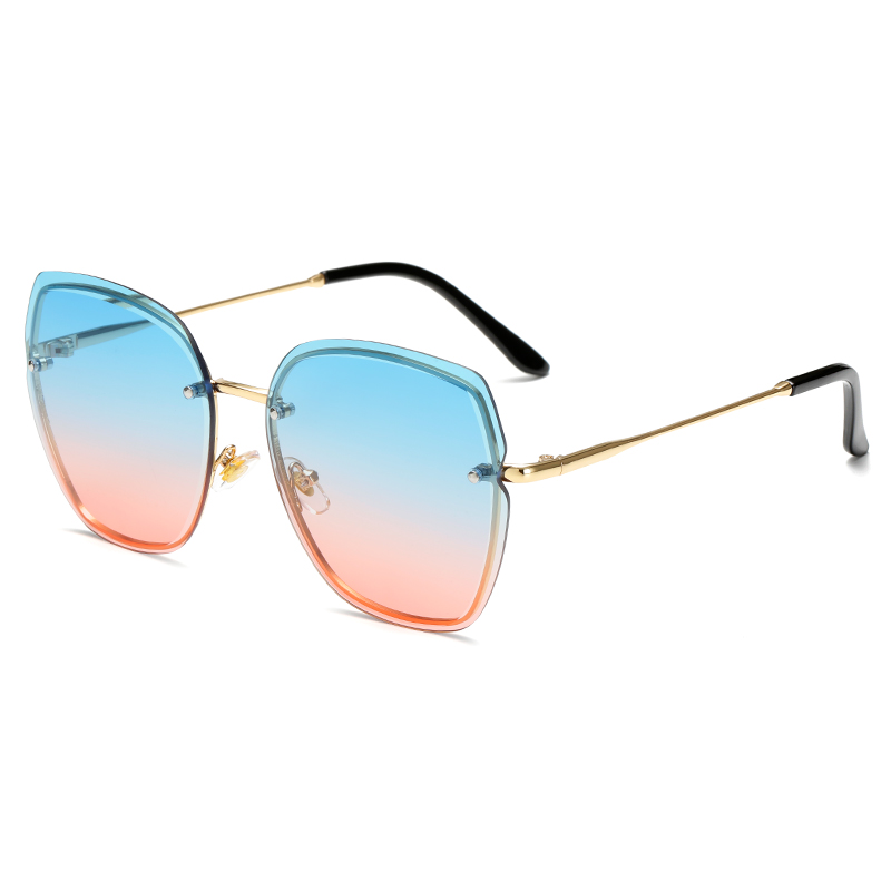 New trending women designer fashion trendy colorful sunglasses