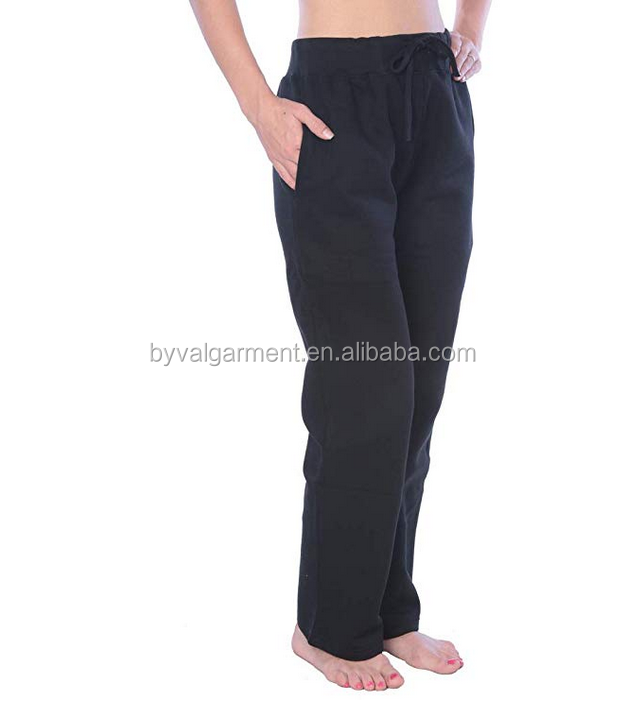 Byval New design plain women jogging pants design drawstring sweatpants
