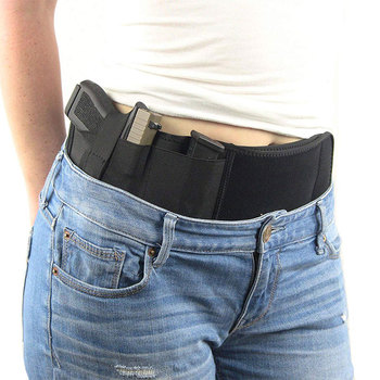 Superior quality tied on the waist holster tactical holster belly band gun holster