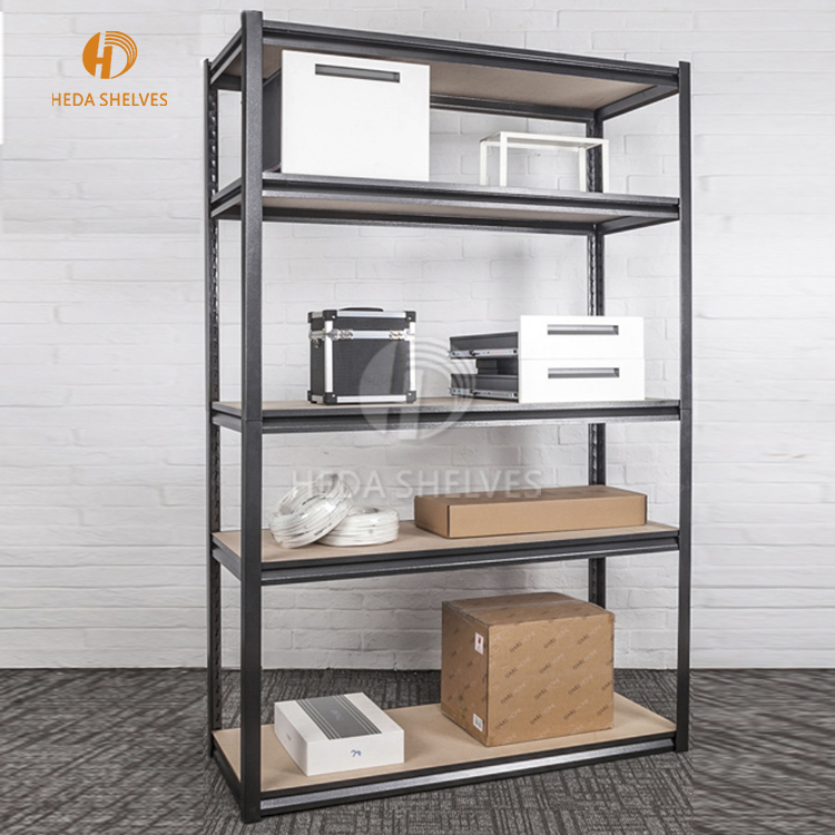 estante metal Adjustable boltless 4-shelf warehouse shelving unit garage storage rack