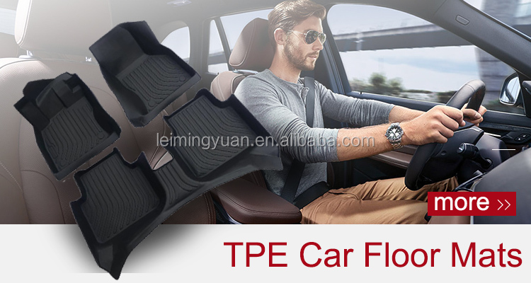 Wholesale left hand drive 3d rubber car floor mats