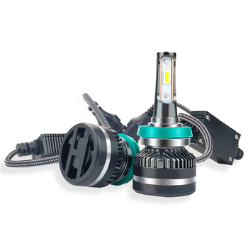 New Arrival Super Bright LED Headlight NQ auto motorcycle mini h7 h11 h4 h1 car led headlights kit 80W 8000LM for Auto Car