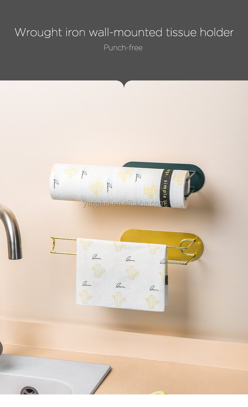 cabinet mounted tissue holder