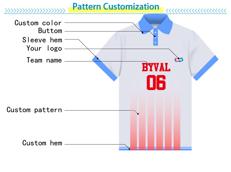 Byval Wholesale 100% cotton custom printing design men's polo printed t shirt