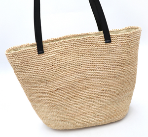 Customized Size Fashion Low MOQ Straw Beach Bag Tote
