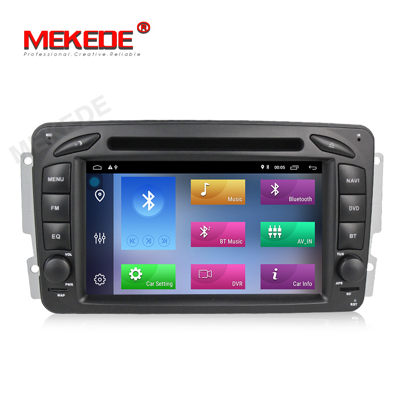 MEKEDE 7&quot; Android 9.<strong>1</strong> <strong>1</strong>+16G Car DVD Radio for Ben-<strong>z</strong> Clk W209/W203/W168/M/ML/W163/Viano/W639 Vito Auto Navigation GPS