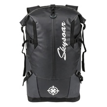 OEM Custom With Logo Waterproof Outdoor Sports Rolltop <strong>Bags</strong> Black Tarpaulin Rucksack Carry On Travelling trekking Gym Backpack