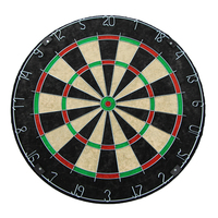 China No.1 Bristle Dartboard Factory Standard Sisal Dart boards with 6pcs steel darts
