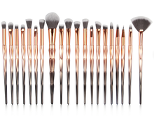 New Makeup <strong>Brushes</strong> 20pcs Gradient Diamond Makeup <strong>Brush</strong> Set Colorful Handle <strong>Brushes</strong> Set