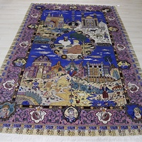 Oriental Rugs Persian Wool Hand Knotted Silk Carpet Rugs