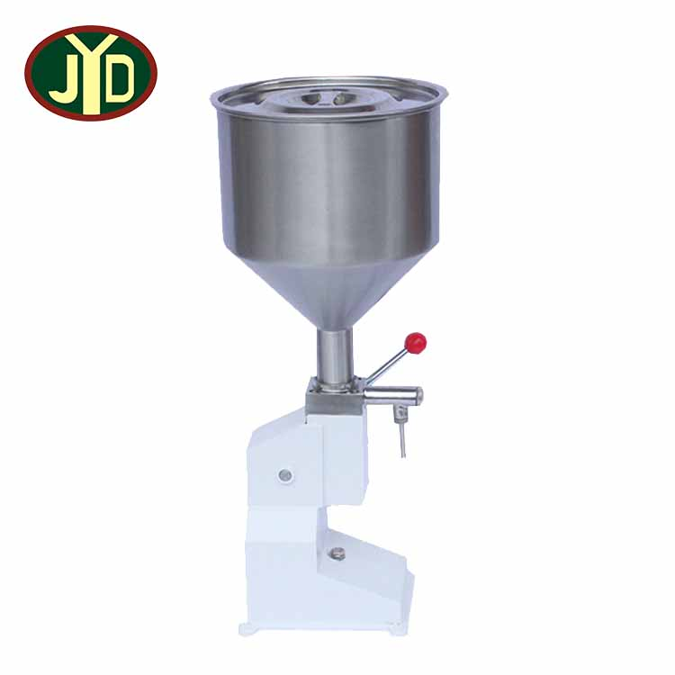 JYD China Factory Supply <strong>A03</strong> Hot Sell Newest Small Style Design Series Manual Liquid Paste Filling Machine 2-50ML