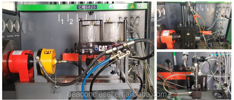 New design High pressure BC-CR825 Heui eui eup common rail injector and injection pump test bench