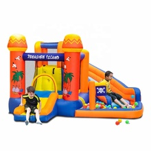 Wholesale Kid Inflatable Pool Water Slide Bounce House Combo Bouncy Castle with Slide