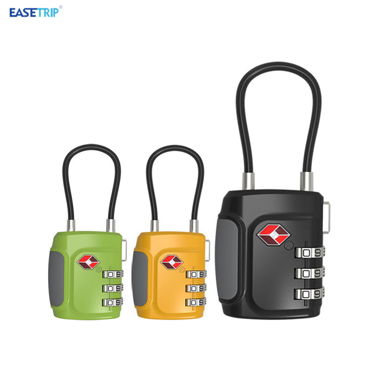Best Travel Safety Digital Combination Padlock Luggage TSA Approved Lock
