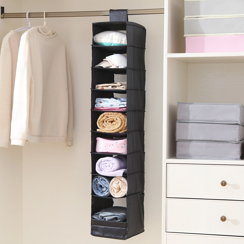 Simple And Modern 9 Story Bedroom Oxford Cloth Folding Closet Organizer Clothes Hanging Storage Bag Buy Closet Organizer Storage Clothes Hanging Bag Folding Hanging Storage Bag Product On Alibaba Com