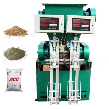 Best Price Quick Lime Gypsum Plaster Powder Cement Bag Automatic Vertical Filling Packaging Machine