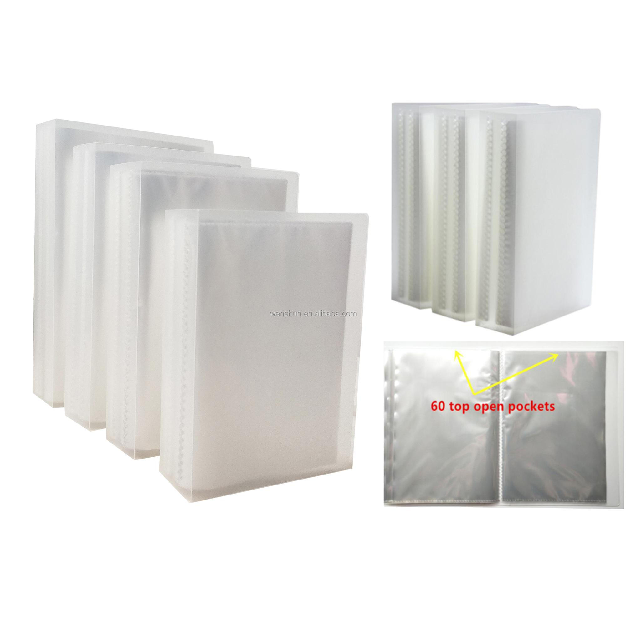 Wholesale Cheap Price Plastic PP Ultrasonic Photo Card Holder Album
