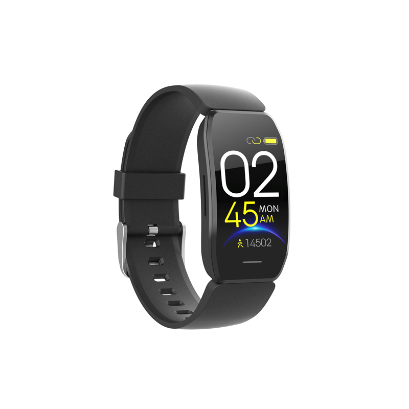 Color screen touch new <strong>C114</strong> smart sports bracelet monitoring sleep heart rate blood pressure information call reminder pedometer