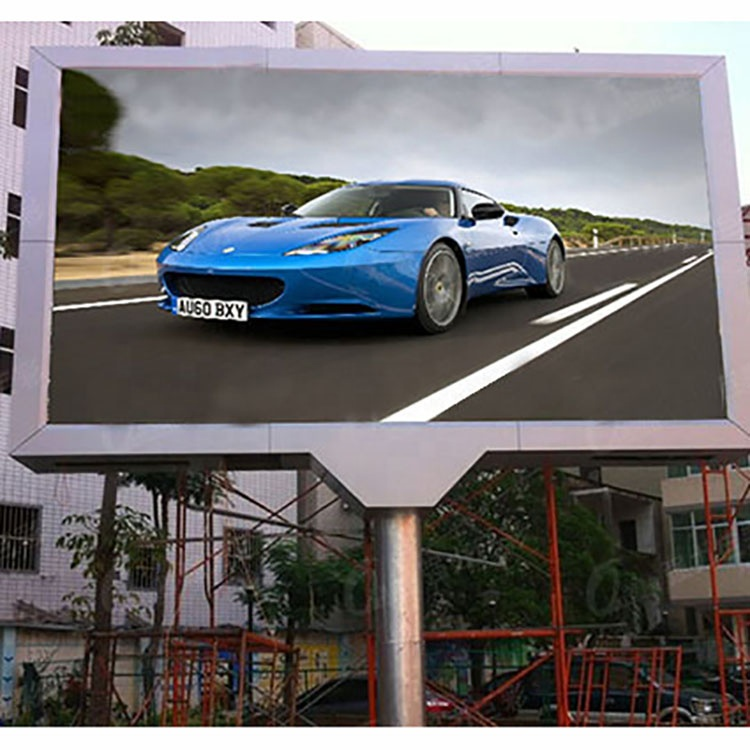 <strong>P10</strong> Outdoor doule side <strong>Advertising</strong> LEDdisplay led moving <strong>screen</strong>