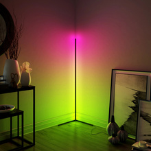 Dimmable Floor Lamp Modern RGB Remote Control LED Floor Standing Lamp Corner <strong>Light</strong>