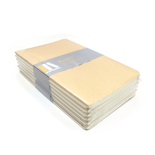Good quality low MOQ notebook accept logo printing A5 brown kraft paper black printing offset paper notebook retail ketch <strong>book</strong>