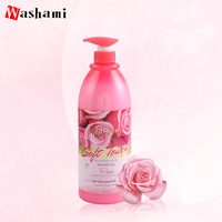 Best selling 1380ml natural organic body wash private label shower gel