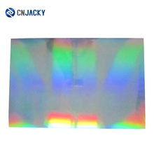 Offset Printable Hologram Silver Rainbow PVC Core Sheet for <strong>Advertising</strong>