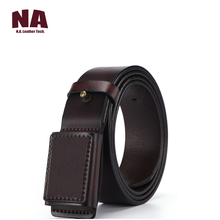 All New Designer Prevent Metal Buckle Allergy <strong>Belt</strong> Men's Genuine Vegan Leather Smooth <strong>Belts</strong>