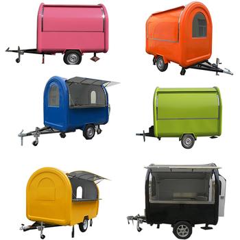Carros De Comida Food Vending Cart India Mobile Food Trucks Trailer Indian