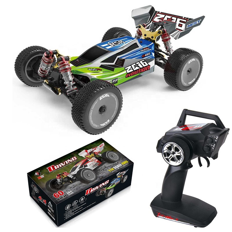 New arrival Wltoys 144001 1/14 4WD Alloy 60km/<strong>h</strong> High Speed RC Buggy Electric RC <strong>Car</strong>