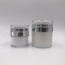 15g 30g 50g face acrylic airless pump cream jar cosmetics <strong>containers</strong> and packaging