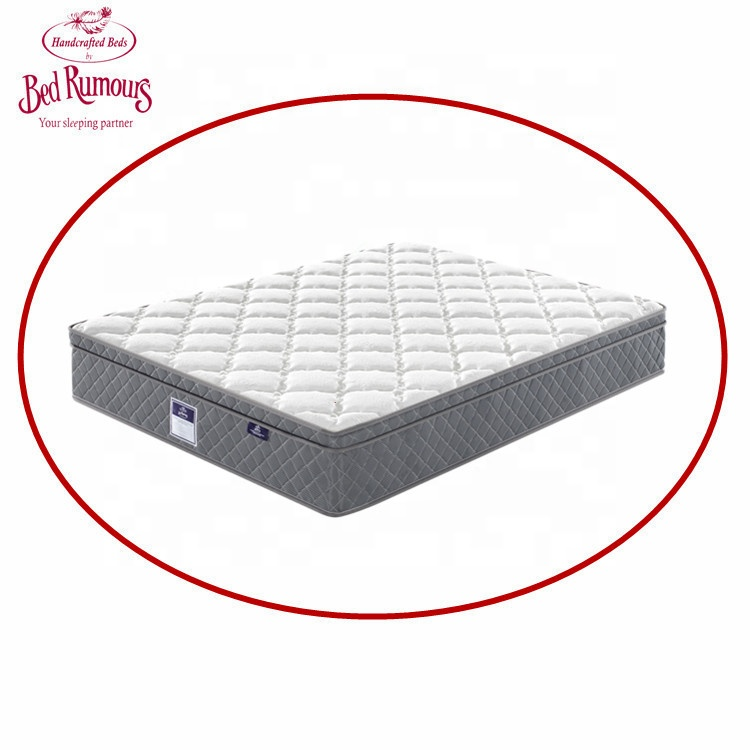 Bed Rumours Gel Memory Foam Latest design Double Single Bed Fabric Foldable King Size Pocket Spring Mattress for Hotel ZH01 - Jozy Mattress | Jozy.net