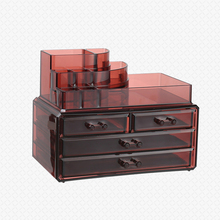 Hot selling Acrylic makeup organizer Acrylic cosmetic display