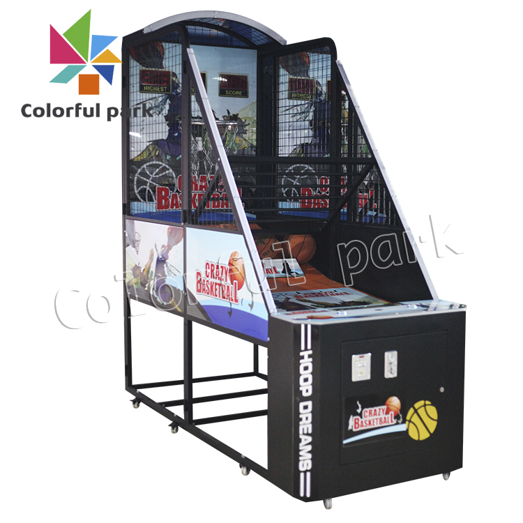 Colorful Park Coin Operated game machine,Basketball arcade Game Machine,vending games machines