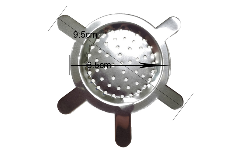 T023CH LVHE Stainless Steel Hookah Metal Screen Charcoal Holder for Shisha Bowl