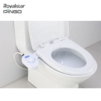 Non Electric Plastic Cold Water Toilet Manual Bidet