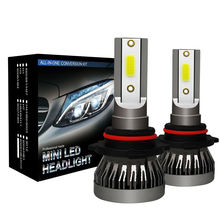 2x <strong>Car</strong> LED Headlight HB3 <strong>H10</strong> 9005 72W <strong>Lamps</strong> 20000LM 6000K COB IP68 Bulbs Kit