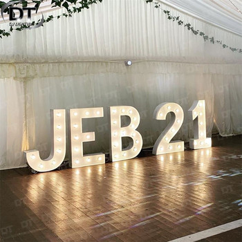 DT Large LED Love Sign Wedding Light Letter Led Acrylic Wedding Letters Sign Wholesale In China